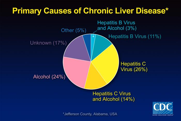 Stages Of The Liver Disease Cirrhosis